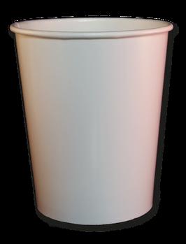 Eisbecher 480 ml, BIO, weiß (700 Stk.)