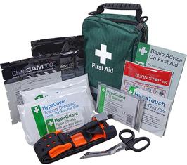 Personal Trauma Kit with Z-Fold Chitosam dressing