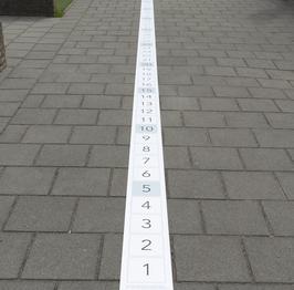 Getallenlijn tot en met 100 - Mat rekenen