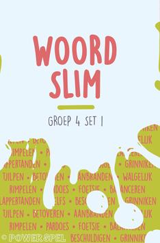 Woordslim groep 4 set 1