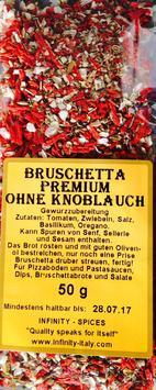 Bruschetta Premium ohne Knoblauch