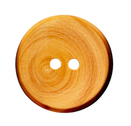 Holzknopf 2-Loch, 12mm, 20mm, 30mm
