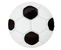 Knopf 'Fußball'