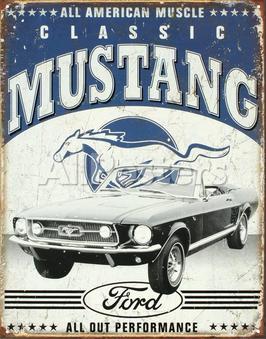 Classic Mustang Cabrio