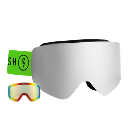 GARISH CG30 GOGGLE BLACK + GRATIS CLEAR LENS
