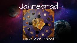 """Jahresrad 12 Monate  """"Osho Zen Tarot"""""""