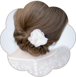 DONNA Kleine Haarblüte Seide