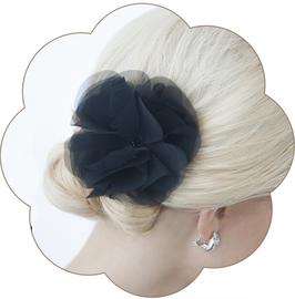DAPHNE Haarblüte schwarz Gala, Silvester, Abschlussball