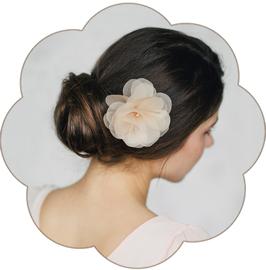 AMBER Haarblüte Pastell Hochzeit Standesamt
