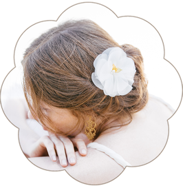 GILL Haarblüte Seide Braut