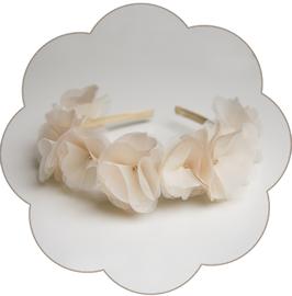 LILLIAN Blüten Haarrkranz Seide Hochzeit