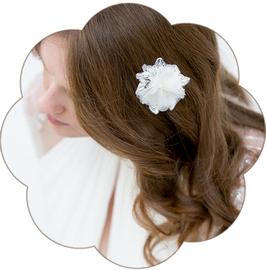 BEATRICE Haarblüte Spitze Bohemian