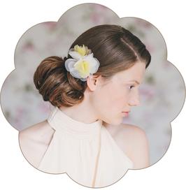 TAMARIS Haarblüte elfenbein taupe pastell gelb