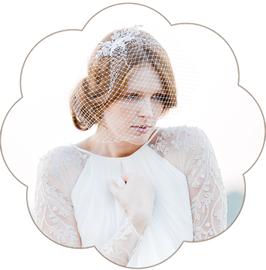 GIORGIA Spitzen Kopfschmuck Braut Fascinator