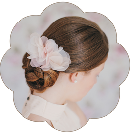 LISETTE Blütengesteck Seide Braut