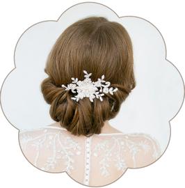 HENRIKA Haarschmuck Spitze Braut