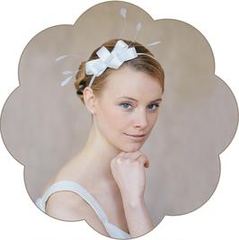 ANNIE Haarreif Braut Hochzeit elegant