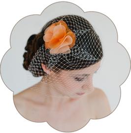 ALICE Kopfschmuck Fascinator Farbig Braut