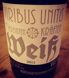 Viribus Unitis Weiß 2015
