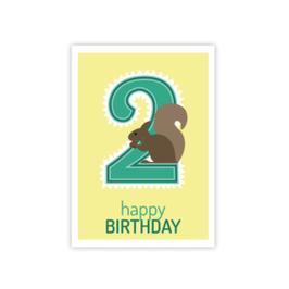 Geburtstags Postkarte 2