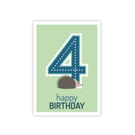 Geburtstags Postkarte 4