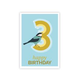 Geburtstags Postkarte 3
