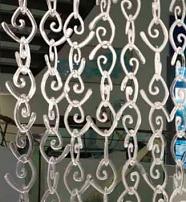 Meteore Poesia Cassiopea Crystal - Glasvorhänge Glass Curtains