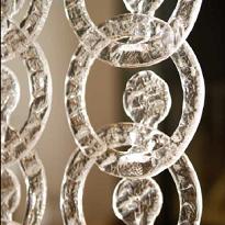 Meteore Poesia Sirio Crystal - Glasvorhänge Glass Curtains