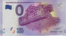 Billet touristique 0€ Wuppertaler schwebebahn 2017