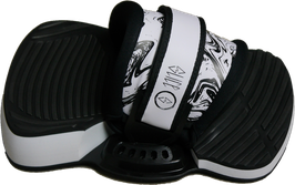SLICE Pro Kiteboardbindung Set WISH black-white