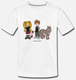 """T-Shirt, Design: """"Junior Rocker"""", weiss"""