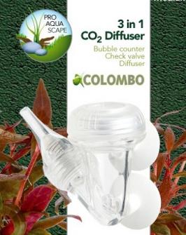 Colombo co2 3-1 diffusor