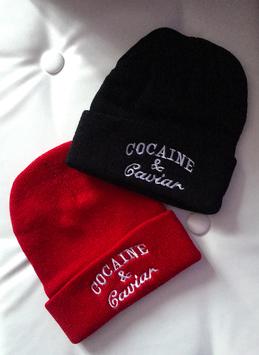 Bonnet Cocaïne & Caviar