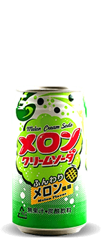 Melon Cream Soda - Can 350ml