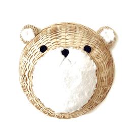 trophée ours en bambou