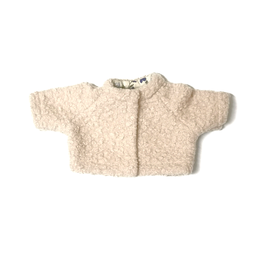 veste effet mouton pour poupée 34-38cm