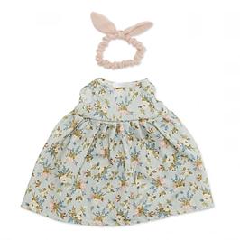 robe & bandana pour poupée 38-42cm