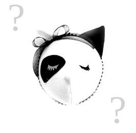 """trophée tissu chat """"personnalisable"""""""
