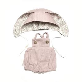 costume lapin pour poupée 34-38cm