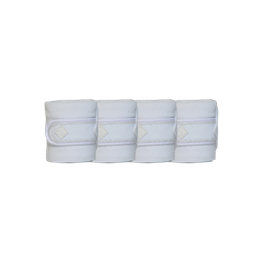 Weiß - Pearls Fleecebandagen