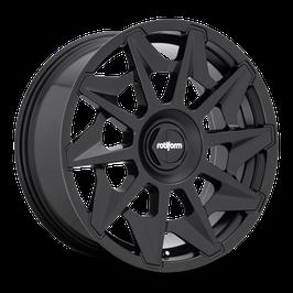 Rotiform CVT 8.5x20 Lk 5/112 ET45 Ml 66.6 schwarz matt