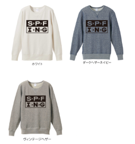 【ご予約商品】S.F.W APPAREL/【SPF > ING】 CREW NECK SWEAT
