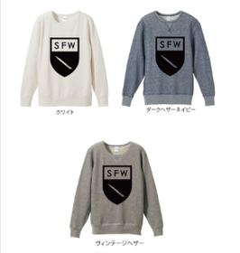 【ご予約商品】S.F.W APPAREL/【S.F.W エンブレム】 CREW NECK SWEAT