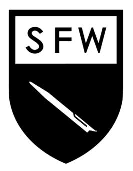 S.F.W APPAREL/【S.F.W エンブレム】 ステッカー