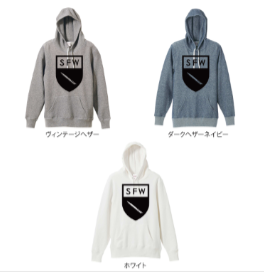 【ご予約商品】S.F.W APPAREL/【S.F.W エンブレム】 HOODED SWEAT