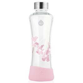 Bottiglia in vetro Magnolia con copertura bassa silicone