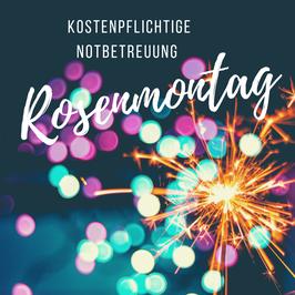 Rosenmontag, 15.02.2021