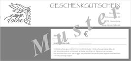 Wertgutschein - Onlineversand