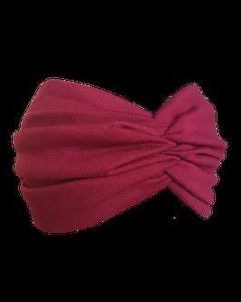 "Haarband ""Bordeaux"" BIO"