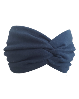 "Haarband ""Nachtblau"" BIO"